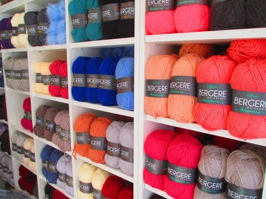 Bergère de France chez Mode et laines