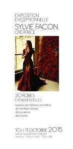 flyer - expo de Sylvie Facon